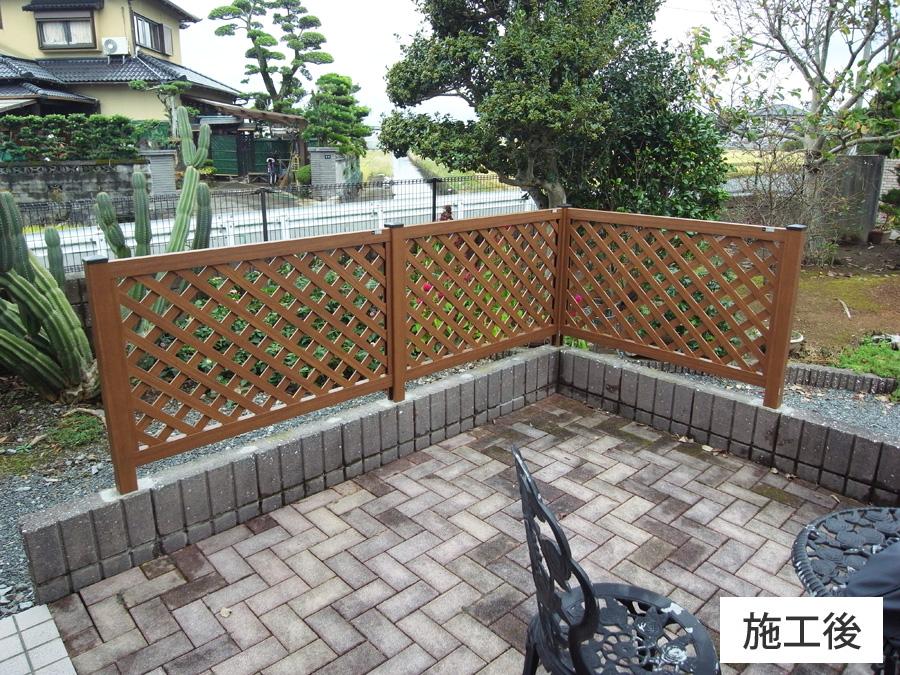 熊本市南区 フェンス工事(K様邸) - GoGoリフォーム王