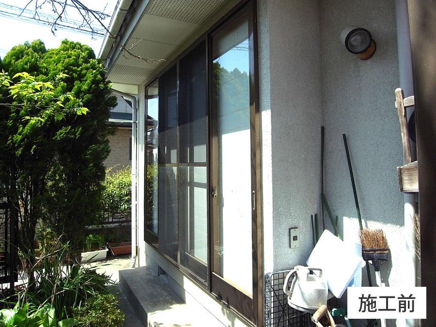熊本市南区 窓回りリフォーム③耐風用シャッター雨戸・断熱 ...